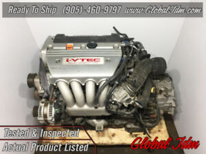JDM Acura TSX K24A 2.4L i-VTEC VTEC OEM Low Mileage Japan Engine