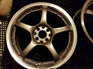 Rays Used G-Games 77W 17inch Rims
