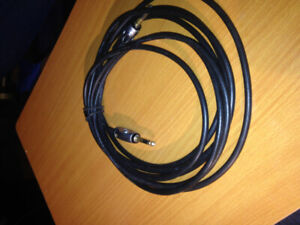 """1/4 """" instrument / patch cables  planet waves - 2"""