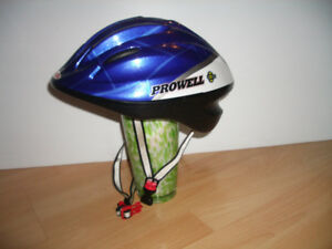 "New -- """" Prowell """" very durable kids bike helmet"