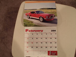 New 2004 MUSCLE THUNDER CAR CALENDAR. Sarnia Sarnia Area image 2
