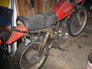 Large Lot of XR500 XL500 Parts