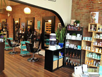 Full-time/part-time hair stylist desired in busy downtown salon