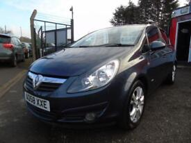 2008 Vauxhall Corsa 1.4i 16V SXi 5dr [AC],FSH,2 keys,2 former keepers,12 mont...