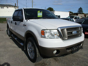 2006 Ford F-150 KING RANCH CREW CAB LEATHER ROOF 4X4