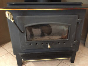 Wood stove Warnock Hersey  like New
