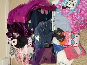 Girls- toddler size 3 clothes.