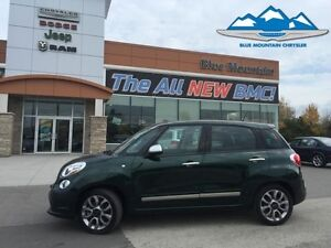 2015 Fiat 500L Lounge   ACCIDENT FREE, BLUETOOTH, LEATHER HEATED