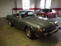 1988 Mercedes-Benz 560 SL ROADSTER (ALL OFFERS CONSIDERED)ESTATE