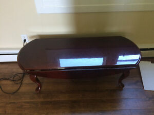Solid table in good condition