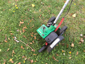 Edger and edging
