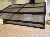 Reptile cage and accessories for sale