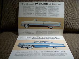 1956 Packard sales folder Peterborough Peterborough Area image 3