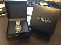 Authentic Movado Sapphire Mens Watch