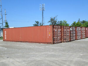 SEA CONTAINERS 20' AND 40' USED AND NEW FOR SALE