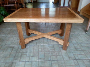 Rustic hand made mission style coffee table