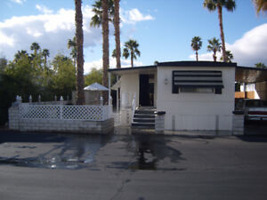 2 Bedroom Trailer in Gated Community Palm Desert CA