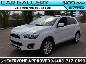 2013 Mitsubishi RVR GT AWD w/Sunroof $109B/W QUICK  EASY FINANCI