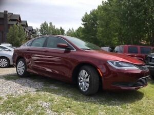 2016 Chrysler 200 LX Almost New Low Kms Great Price!!! *Canmore