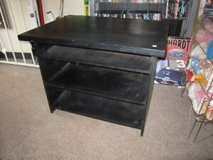 Black Wooden Table For Sale