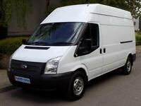 2012 61 FORD TRANSIT 350 LWB HIGH ROOF 2.2 FWD 125 BHP 6 SPEED EURO 5