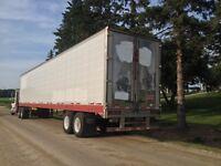 53' storage trailer