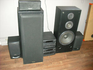 1990's Complete Technics Home Stereo System