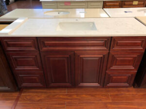 """60"""" Wooden Vanity on CLEARANCE!!"""