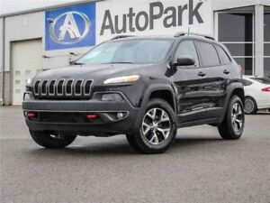 2016 Jeep Cherokee Trailhawk Trailhawk 4WD | Heated & Cooled...