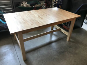 Solid Wood Extendable Kitchen / Dining Table