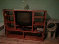 meuble télé avec bibliothèque