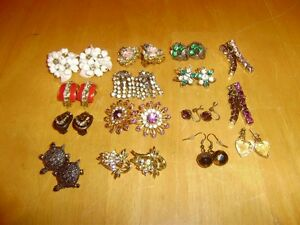 JEWELLERY BROOCHES, EARRINGS, BRACELETS, NECKLACES,RINGS