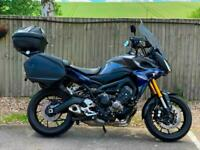 YAMAHA MT09 TRACER ABS 2016 (16) + FULL TOURING LUGGAGE