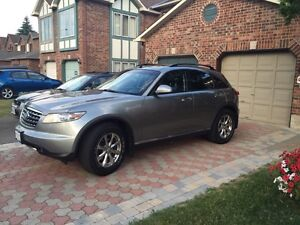 Infiniti FX 35 comes with 4 new winter tires I bought it 800