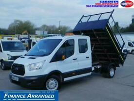 2016 Ford Transit 2.2TDCI 125PS DOUBLECAB UTILITY TIPPER Tipper Diesel Manual