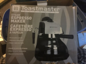 Toastmaster steam Espresso Maker