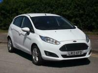 2013 Ford Fiesta 1.25 82 Zetec 5dr White HATCHBACK Petrol Manual