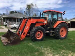 Tracteur KUBOTA  125 hp   A VOIR