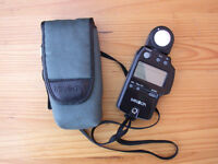Minolta Light/Flash Meter