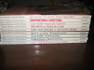 Better Homes and Gardens Craft Books