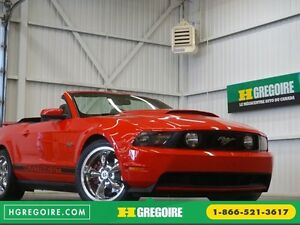 2011 Ford Mustang GT 5.0L Cabriolet (cuir)