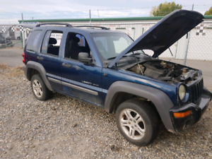 2002 Jeep liberty parting out