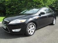 10/10 FORD MONDEO 1.8 TDCI ZETEC 5DR HATCH IN MET BLACK WITH ONLY 78,000 MILES