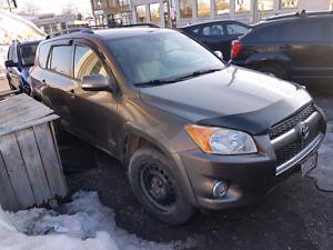 2009  Toyota rav4   limited 4cyl