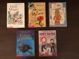 Sholastic Books for teens, like new condition