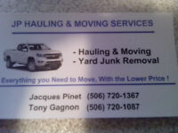 JP hauling and moving service