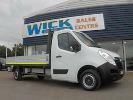 2016 Vauxhall MOVANO F3500 L3H1 DROPSIDE CDTI *12FT 7' BED* Manual Dropside