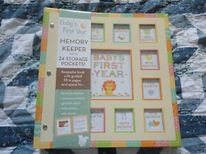 Baby's First Year Memory Keeper Book New