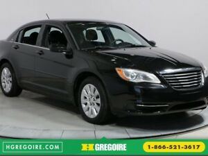 2014 Chrysler 200 LX AUTO AC GR ELECT MAGS