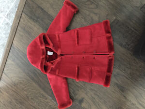 Baby Gap faux sheep skin jacket- never worn! Perfect condition